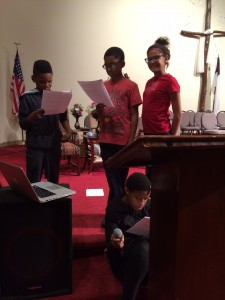 Larger Than Life Puppet Show at Greater St. Mark's Church 2015