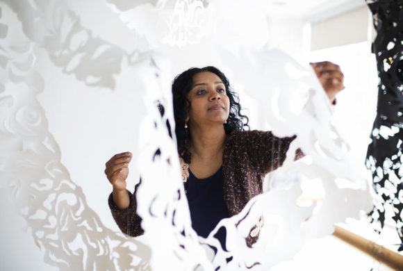 St. Louis Public Radio: Light Bends, So Does Paper – How Sukanya Mani Merges Art And Science